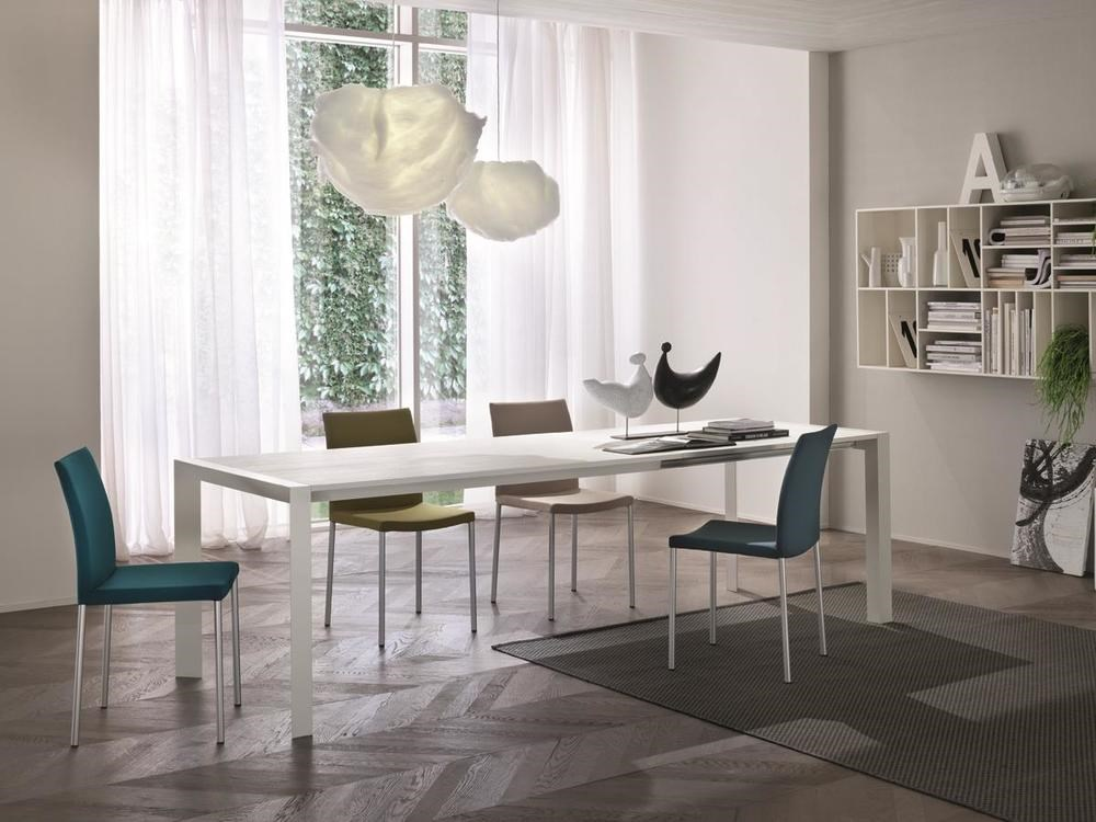 DOMINO DINING TABLE WITH DOUBLE EXTENSION 1600 X 900