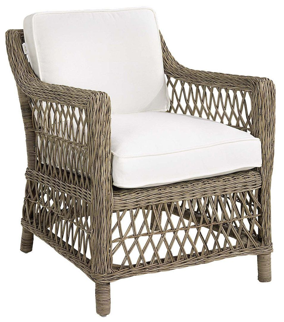ARTWOOD DARBY ARMCHAIR  - INDOOR RATTAN