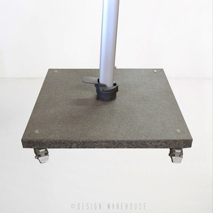 ASPEN / ARUBA UMBRELLA BASE - SILKY GREY GRANITE