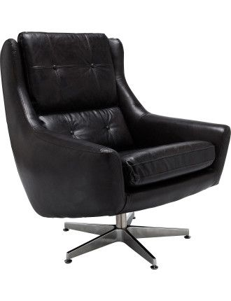 HALO  DETROIT SWIVEL CHAIR