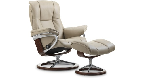 Stressless® Mayfair Leather Recliner - Signature Base