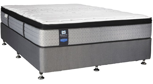 Sealy Performance Vancouver Firm - King Mattress & Base