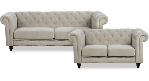 Charlietown 3 Seater + 2 Seater Lounge Suite
