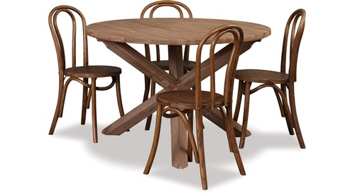 Potters Barn 1200 Dining Table & Arrow Chairs x 4