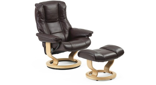 Stressless® Mayfair Leather Recliner - Classic Base