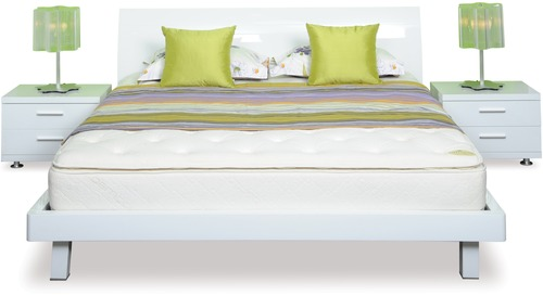 Arctic Slat Bed Frame & Headboard - Super King